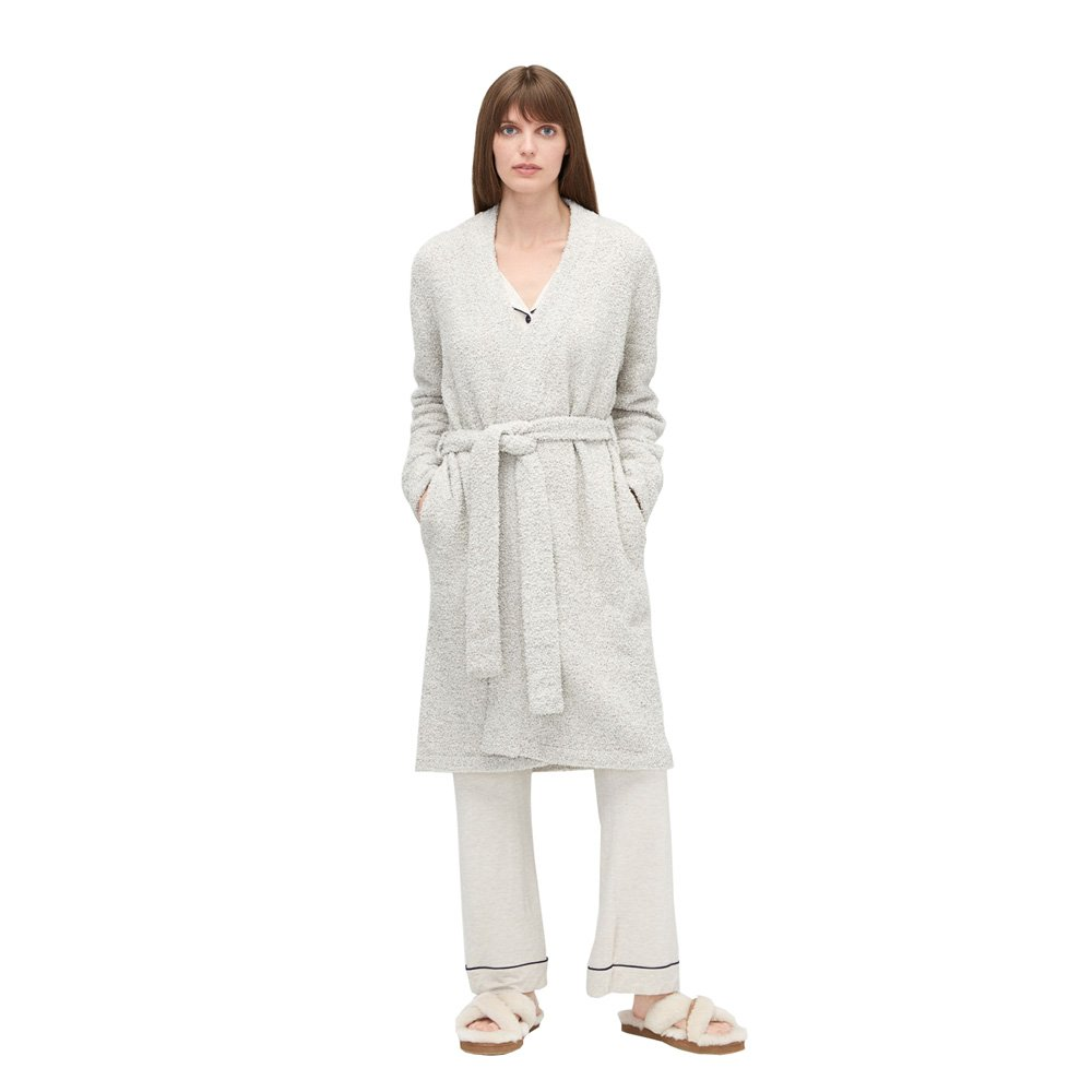 UGG Ana Sweater Plush Knit Robe, XL, Driftwood by UGG (Image #3)