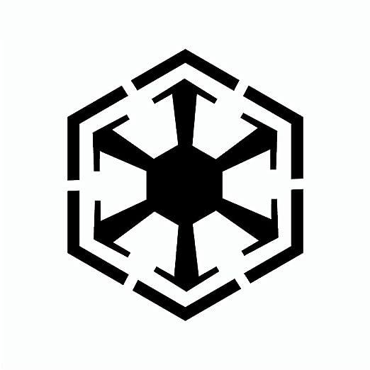 Star Wars Etiqueta de La Pared de Dibujos Animados Imperio Sith ...