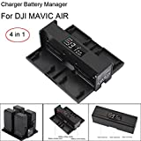 Goodtrade8® Smart Charger Battery Manager For DJI Mavic Air Drone Parts Black