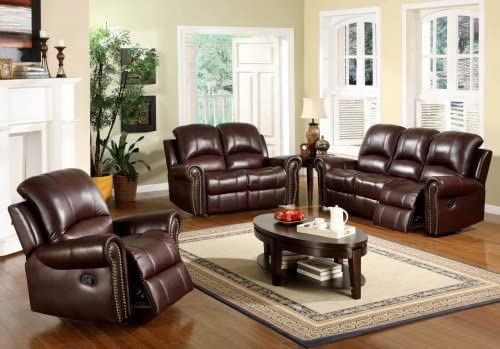 Magnificent Amazon Com Arlington Reclining Italian Leather Sofa Gmtry Best Dining Table And Chair Ideas Images Gmtryco