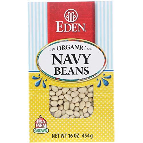 (Eden Foods Organic Navy Beans 16 oz 454 g)