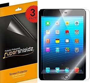 (3 Pack) Supershieldz for Apple iPad Mini 3, iPad Mini 2, iPad Mini 1 Screen Protector, High Definition Clear Shield (PET)