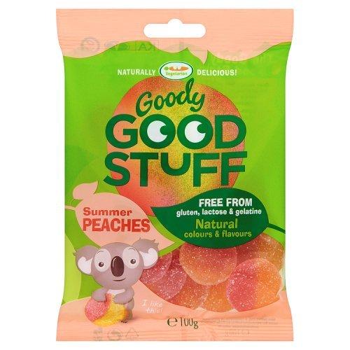 Goody Good Stuff Summer Peaches Vegetarian Sweets, 100g