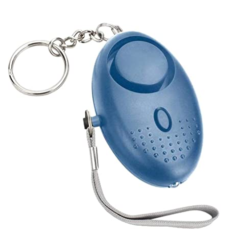 Autodefensa del Llavero de la Seguridad de la Emergencia de la Mini Alarma Personal de Xixini con la Linterna de LED