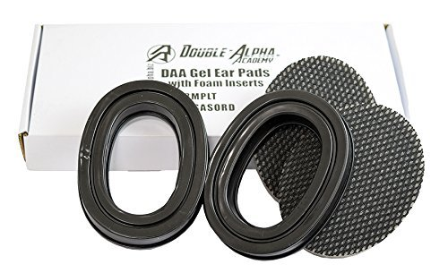 DAA-304 Silicone Replacement Gel Pads for 3M Peltor Earmuffs