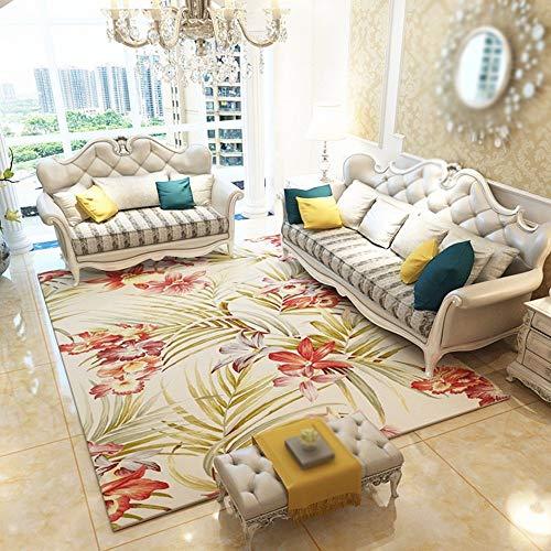 MOM Carpet Living Room, Sofa Coffee Table Carpet Home Carpet Bedroom Bedside Mat Basket Computer Swing Seat Pad Entrance Hall Porch Floor Mat,120160cm