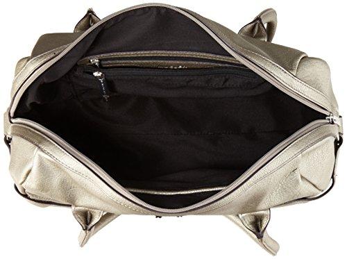 Thierry Mugler L.A 11 - Bolso bolera para mujer gris - Gris (Canon de Fusil 6W27)