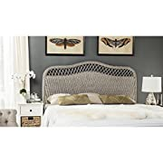 Safavieh Home Collection Sephina Antique Grey Rattan Headboard (Queen)