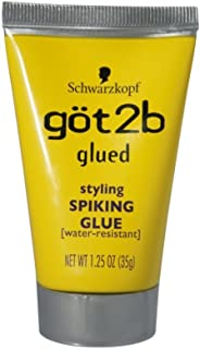 product image for Schwarzkopf got2b Glued Styling Spiking Glue 1.25 oz (Pack of 4)