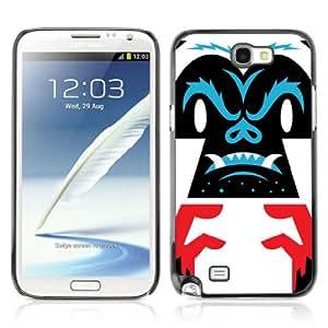 YOYOSHOP [Cool Gorilla Illustration] Samsung Galaxy Note 2 Case