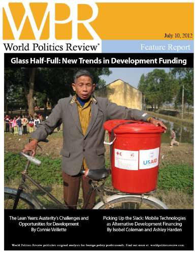Glass Half-Full: New Trends in Development Funding (World Politics Review - Trends Glasses New