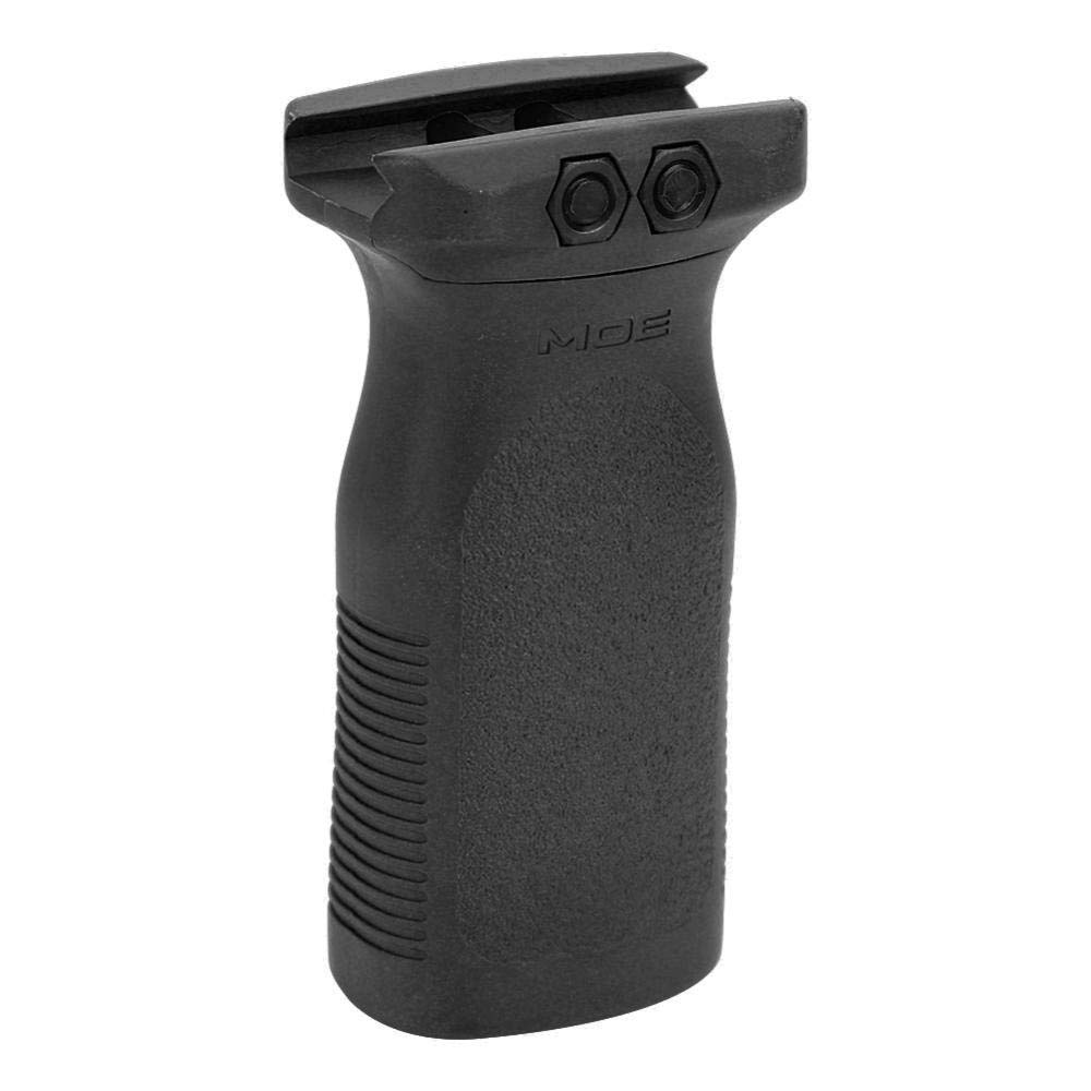 Tbest Agarre de Airsoft Picatinny Rail Foregrip Vertical foregrip Agarre RVG Manija táctica Plegable de Airsoft, manija Plegable de la manija multiángulo Vertical(Negro)