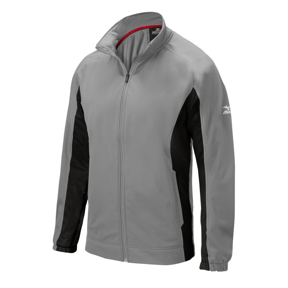 Mizuno 350554.9190.04.S Pro Thermal Jacket S Grey-Black by Mizuno (Image #1)