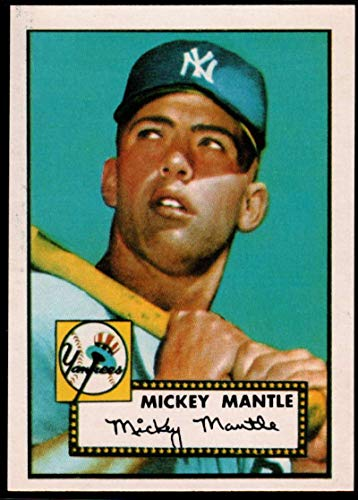 1952 Topps 311 Mickey Mantle - Baseball MLB 1983 Topps 1952 Reprint #311 Mickey Mantle Yankees