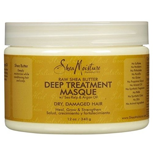 Shea Moisture Raw Shea Butter Deep Treatment Masque with Sea