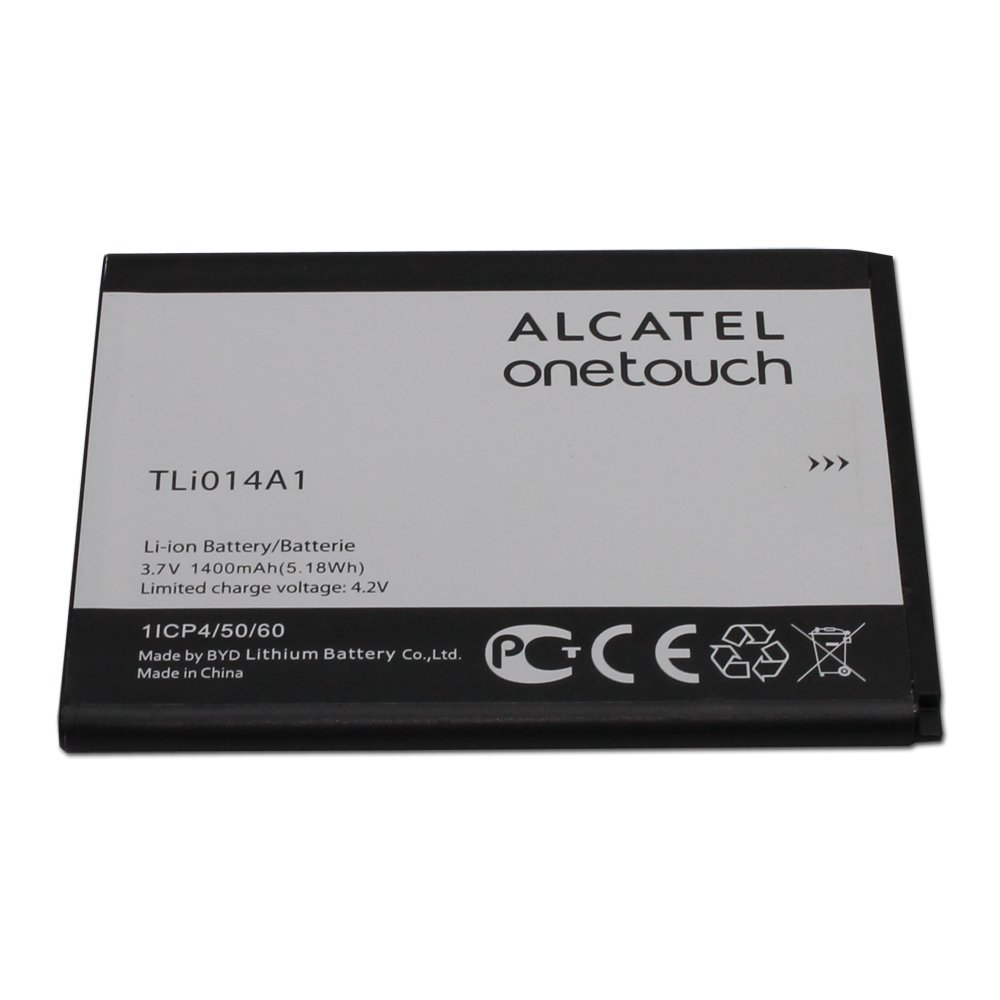 Bateria Celular Alcatel Tli014a1 3.7v 1400mah Para Alcatel Onetouch Glory 2 Inspire 2 M Pop 100% In Non Retail Package