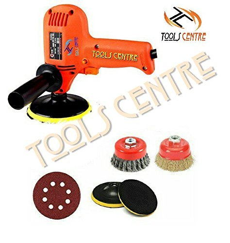 - TOOLSCENTRE Tools Centre Combo Twisted Cup Brush & Non Twisted Golden Cup Brush With Variable Speed Electirc Mini Sander/Polisher