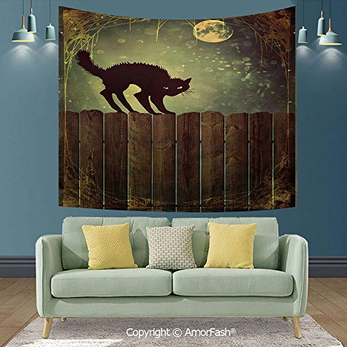 (Halloween Sofa Backdrop,Bedroom Background,Tapestry Wall Decor Hippie Tapestries,80