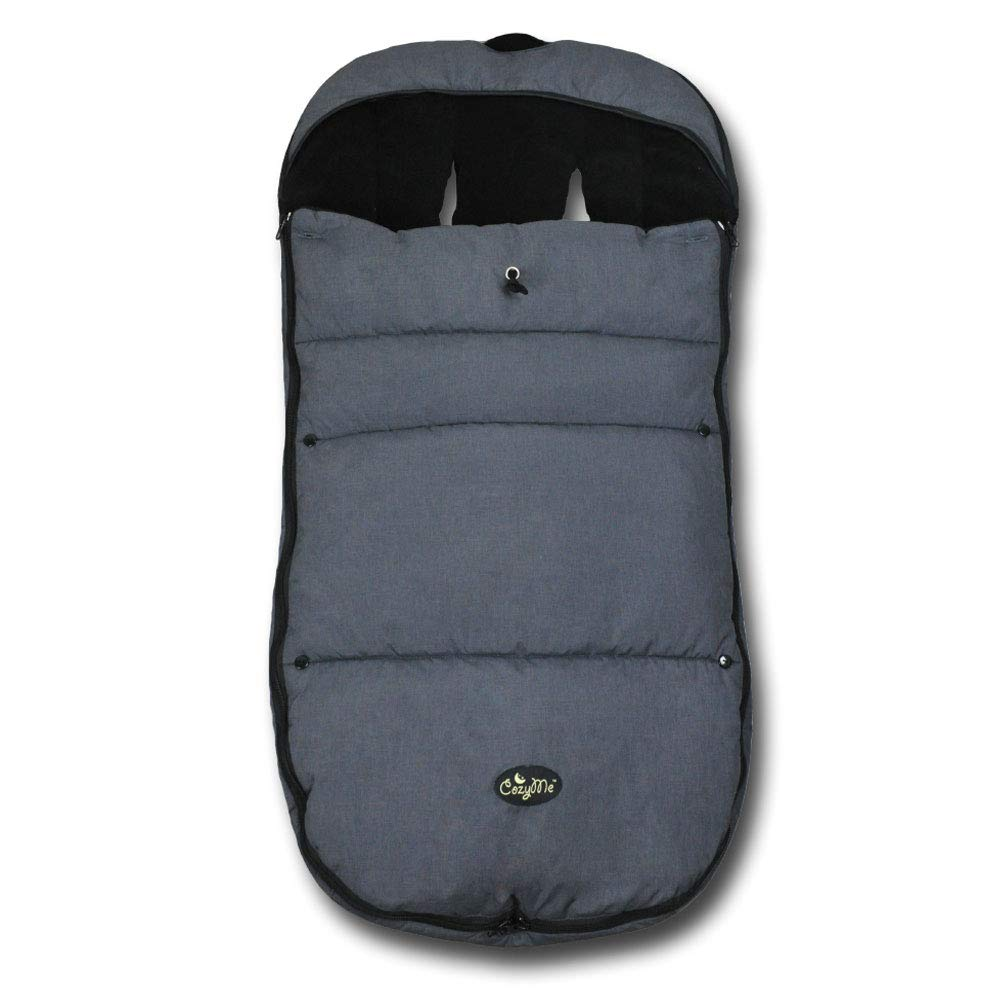 Warm Cuddly Weather Resistant Baby Footmuff Fits Most of Strollers Pushchair and Joggers, Pink