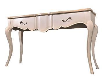 Table console table dappoint chambre bureau 2 tiroirs buffet