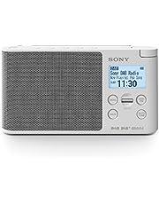 Sony Taşınabilir Dijital Radyo (Lcddisplay, Alarmlı Saat/Kronometre, Dab, Dab +, Fm (Rds), Zamanlayıcı-Uyandırma Fonksiyonlu, Ac-Şarj Aleti Ve/Veya Pil İle Çalışır, 25Saat Pil Ömrü) Beyaz Xdrs41Dw.Eu8