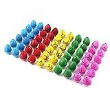 Generic Dino World-60 Pcs Colorful Magic Add Water Dinosaur Eggs Hatching Dino Growing Children Toy Birthday Gift
