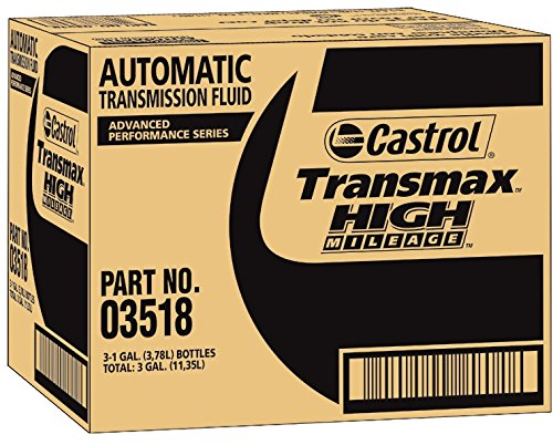 Castrol 03518-3PK Transmax ATF Green High Mileage Transmission Fluid - 1 Gallon, (Pack of 3) by Castrol (Image #2)