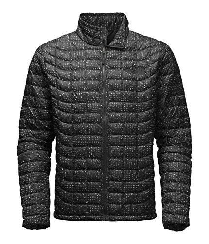 The North Face Thermoball Full Zip Jacket - Men's (Medium, TNF Black Morpheus Print) The North Face Insulated Coat
