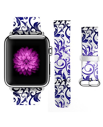 iWatch Genuine Leather Dancing Pattern