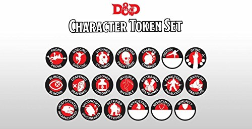 Gale Force 9 Dungeons & Dragons Next Character Token Set (Status Tokens)