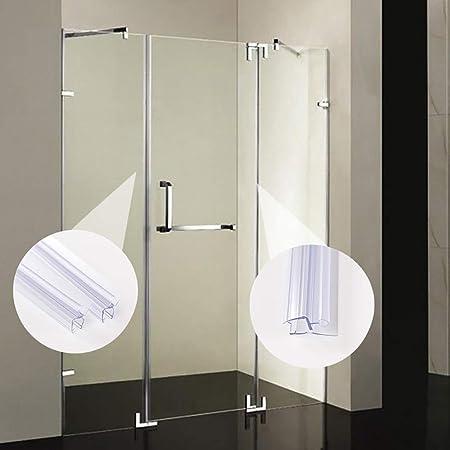 Cofemy 8mm Baño Pantalla de ducha Tira de sellado de puerta para sello de espesor de vidrio 2.85ft Puerta Ventana Accesorios de accesorios de vidrio: Amazon.es: Bricolaje y herramientas