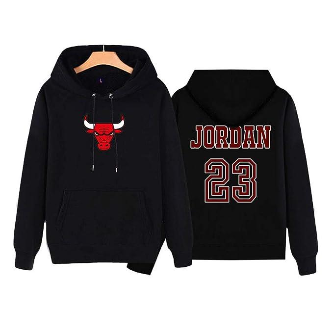 Bulls Jordan Chaqueta de Baloncesto Manga Larga Suelta ...