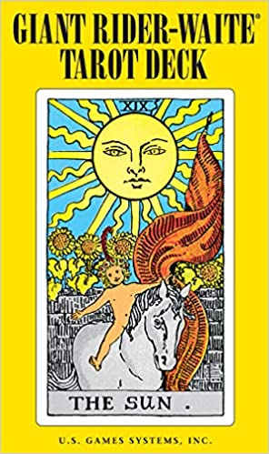 78 cartes Neuf The Original Rider Waite Tarot Deck en anglais