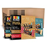 KIND Bar Minis, Variety Pack, Gluten Free, 100 Calories, Low Sugar.7oz Bar, 90 Bars
