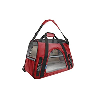 GAOJIAN Pet Pack Cat Dog Rabbit Pet Backpacks Out Portable Pack Dog Cage Cat Bags Pet Bags High 33Cm Long 48Cm Wide 25Cm