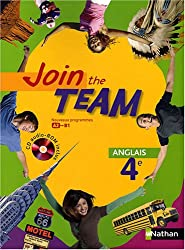 Anglais 4e Join the Team (1CD audio)