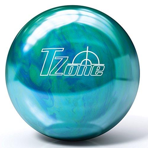 Brunswick T-Zone PRE-DRILLED Bowling Ball- Caribbean Blue (10lbs)