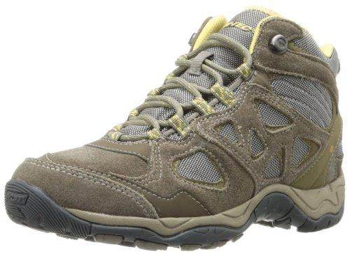 Hi-Tec Women's Sienna Mid Waterproof Approach Shoe,Brown/Taupe/Golden Haze,9.5 M US