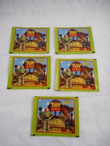 トイストーリー ステッカーカード シリーズ2 5パックセット