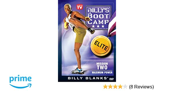 Amazon.com: Bootcamp Elite Mission Two: Maxium Power: Billy Blanks: Movies & TV