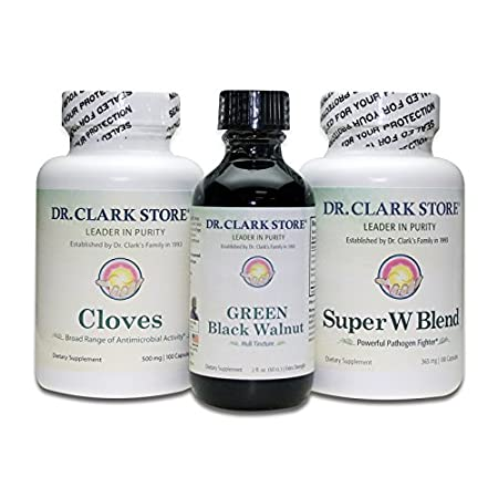Amazon.com: ParaCleanse - Black Walnut & Wormwood - by Dr Hulda Clark: Pet  Supplies