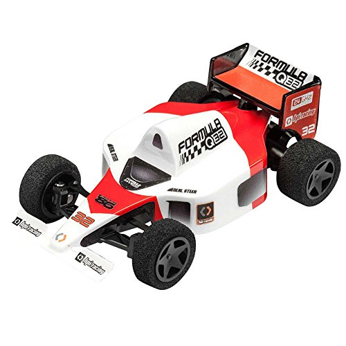 HPI 116710 Q32 Formula 1 Rtr Electric RC Car with 2.4GHz Radio Transmitter, Red, 1:32 Scale