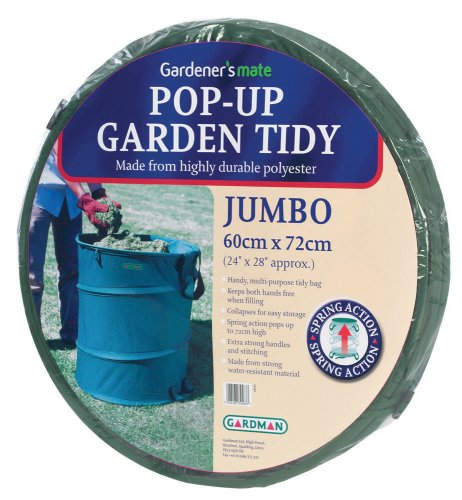 Gardman R623 Pop-Up Garden Tidy Jumbo, 24