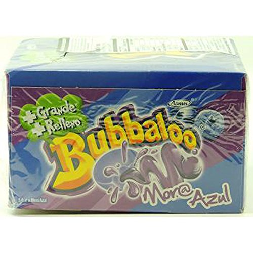 Bubbaloo Chewing Gum Mora Azul (GUM - CHANGE MAKER)