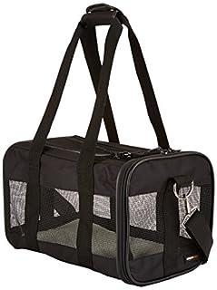 AmazonBasics Small Soft-Sided Mesh Pet Airline Travel Carrier Bag - 14 x 9 x 9 Inches, Black (B00QHBZUM4) | Amazon price tracker / tracking, Amazon price history charts, Amazon price watches, Amazon price drop alerts