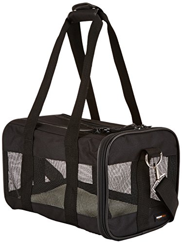 AmazonBasics Black Soft Sided Pet Carrier