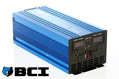 Pure Sine Wave Power Inverter by BCI (2000 Watt Pure Sine Wave Inverter)
