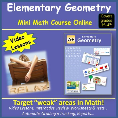 Amazon.com: Learn about Elementary Geometry (covers 1st to 4th ...