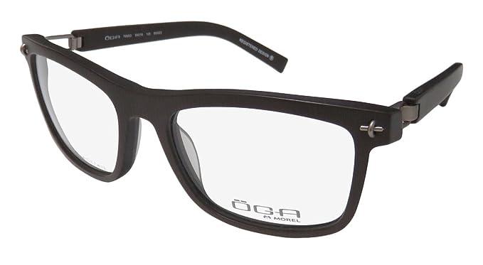 c767a2995f Oga By Morel 7950o Mens Designer Full-rim Flexible Hinges Premium Quality  Gorgeous Must Have