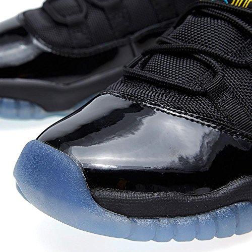 detailed look 045fa 2c751 ... release date nike herren air jordan 11 retro leder basketballschuhe  schwarz gamma blau 34e66 71428